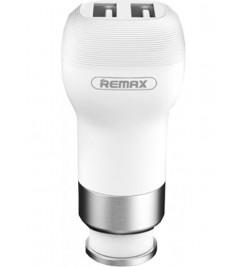 Автомобильное зарядное устройство Remax (RCC207) 2USB / 2.4A White