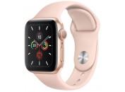 Смарт-часы Apple Watch Series 5 GPS, 40mm Gold Aluminium Case with Pink sand Sport Band (MWV72)