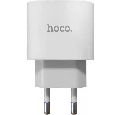 Hoco Power Adapter USB-C 20W (DC23/PD20W) White