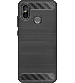 Чехол-накладка для Xiaomi Carbon Fiber Black