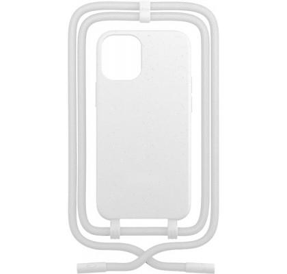 Чехол-накладка для Apple iPhone 12 / 12 Pro Crossbody Case White