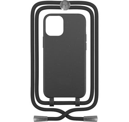 Чехол-накладка для Apple iPhone 12 / 12 Pro Crossbody Case Black