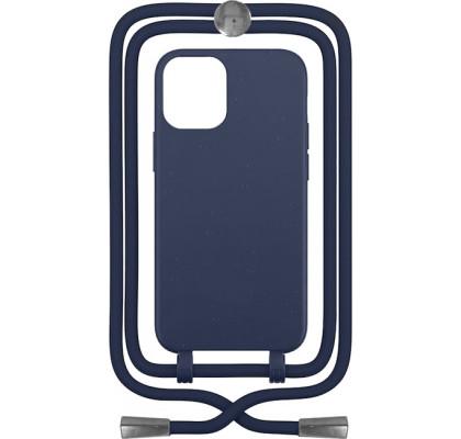 Чехол-накладка для Apple iPhone 12 / 12 Pro Crossbody Case Dark Blue