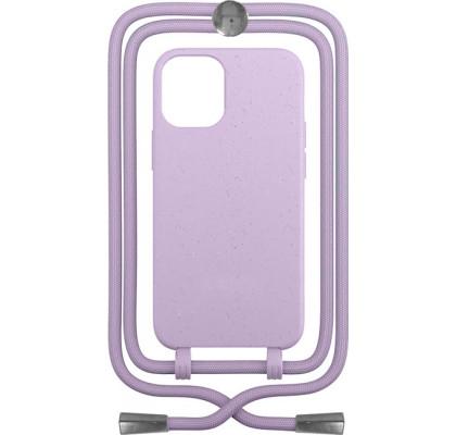 Чехол-накладка для Apple iPhone 12 / 12 Pro Crossbody Case Lilac