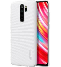 Накладка (Nillkin) Xiaomi Redmi Note 8 Pro Matte White