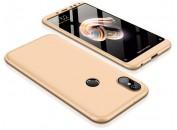 Чехол-накладка для Xiaomi GKK LikGus 360 градусов Gold
