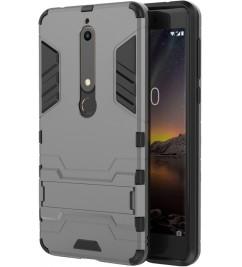 Чехол-накладка для Nokia HONOR Hard Defence Series Grey