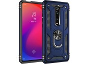 Чехол-накладка для Xiaomi Mi9T / K20 Honor Hard Defence Ring Series Blue
