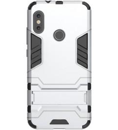 Чехол-накладка для Xiaomi HONOR Hard Defence Series Silver