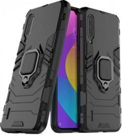 Накладка (HONOR Hard Defence Ring Series) Xiaomi Mi9 Lite / CC9 Black