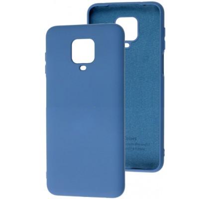 Чехол-накладка для Redmi Note 9s / Note 9 Pro Original Soft Blue