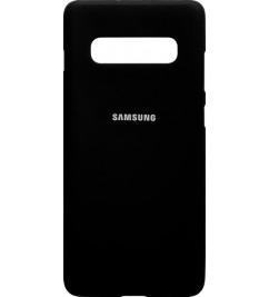 Чехол-накладка для Samsung S10 Plus (G975) силикон Black
