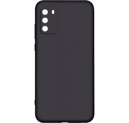 Чехол-накладка для Xiaomi Poco M3 силикон Black