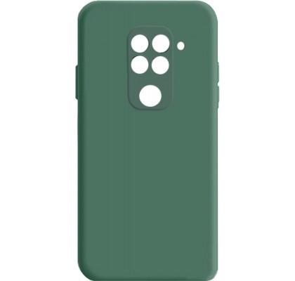 Чехол-накладка для Redmi Note 9 силикон Green