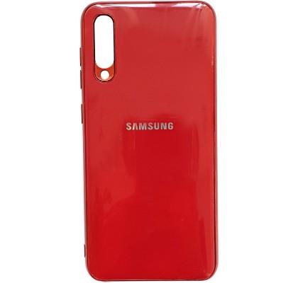 Чехол-накладка для Samsung A50 (А505) Silicon Stile Red