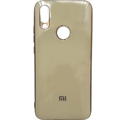 Чехол-накладка для Redmi Note 7 Silicon Stile Gold
