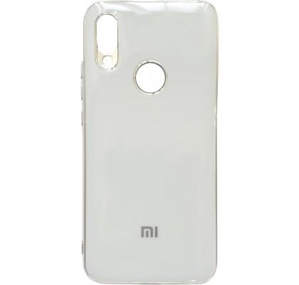 Чехол-накладка для Redmi Note 7 Silicon Stile White