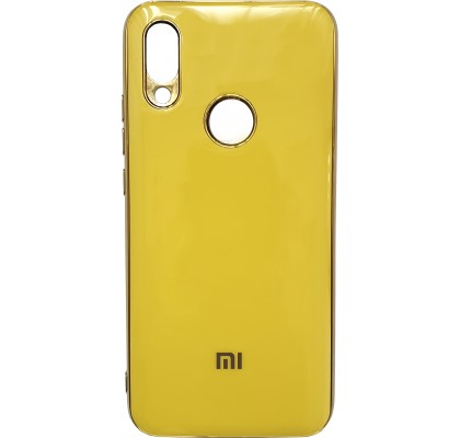 Чехол-накладка для Redmi Note 7 Silicon Stile Yellow
