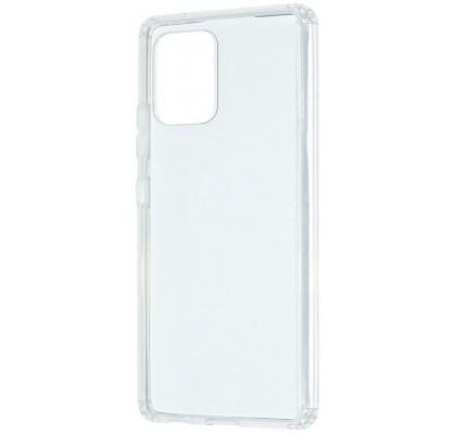 Чехол-накладка для Samsung S10 Lite силикон Clear противоударный