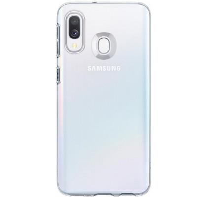 Чехол-накладка для Samsung A40s (A3050) силикон Clear