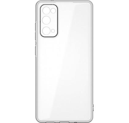 Чехол-накладка для Samsung S20 FE силикон Clear