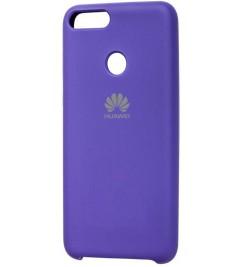 Чехол-накладка для Huawei Original Soft Violet