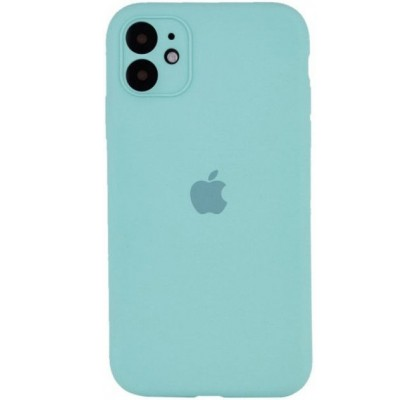 Чехол-накладка для Apple iPhone 12 Original Soft Ice Sea Blue
