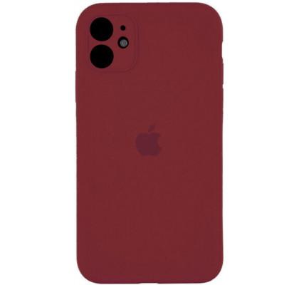 Чехол-накладка для Apple iPhone 11 Original Soft Marsala