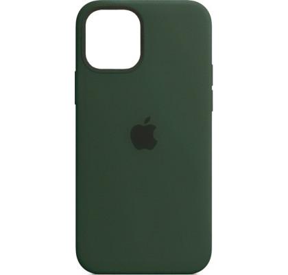 Чехол-накладка для Apple iPhone 12 Original Soft Cyprus Green