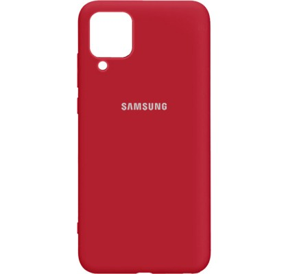 Чехол-накладка для Samsung A12 Original Soft Red