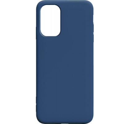 Чехол-накладка для Samsung A72 Original Soft Dark Blue