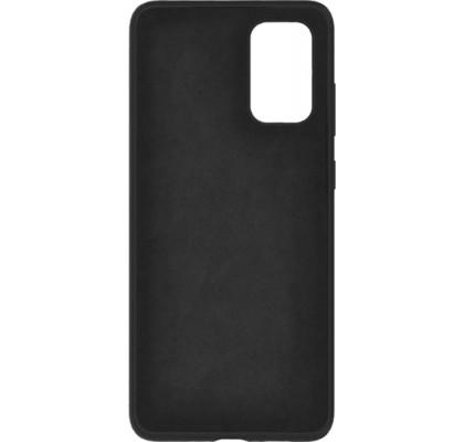Чехол-накладка для Samsung A71 Original Soft Black