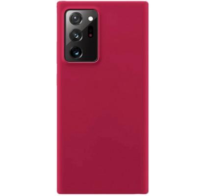 Чехол-накладка для Samsung Note 20 Ultra Original Soft Hot Pink