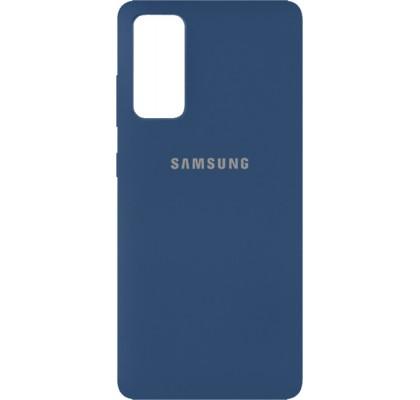 Чехол-накладка для Samsung S20 FE Original Soft Navy Blue