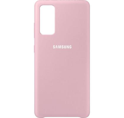 Чехол-накладка для Samsung S20 FE Original Soft Pink