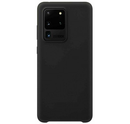 Чехол-накладка для Samsung S20 Ultra (G9880) Original Soft Black