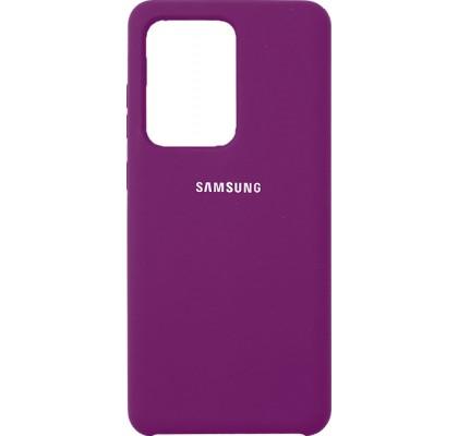 Чехол-накладка для Samsung S20 Ultra (G9880) Original Soft Grape