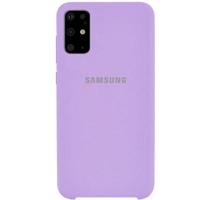 Чехол-накладка для Samsung S20 Plus Original Soft Lilac