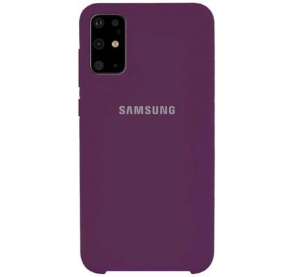Чехол-накладка для Samsung S20 Original Soft Grape