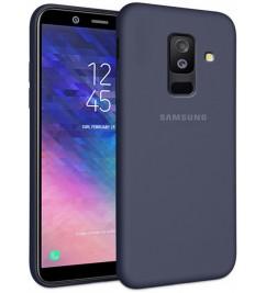 Чехол-накладка для Samsung Original Soft Blue