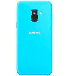 Чехол-накладка для Samsung Original Soft Light Blue