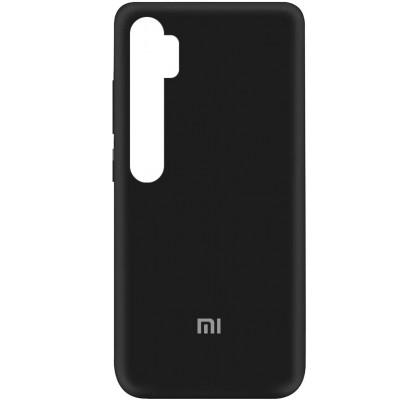 Чехол-накладка для Xiaomi Mi Note 10 / 10 Pro Original Soft Black