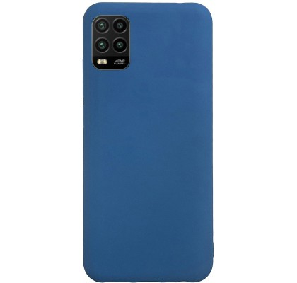Чехол-накладка для Xiaomi Mi 10 Lite Original Soft Navy Blue