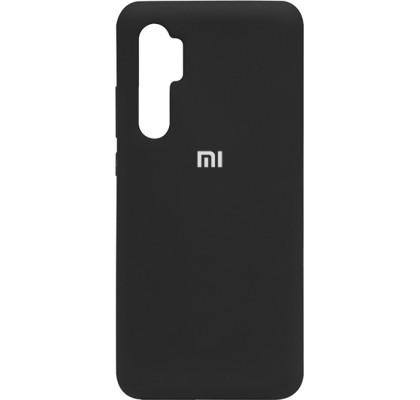 Чехол-накладка для Xiaomi Mi Note 10 Lite Original Soft Black