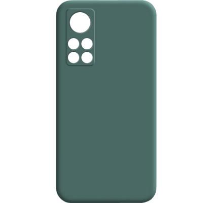 Чехол-накладка для Xiaomi Mi 10T Original Soft Dark Green