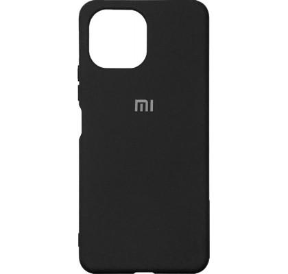 Чехол-накладка для Xiaomi Mi 11 Original Soft Black