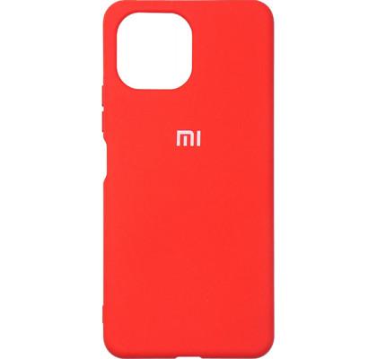 Чехол-накладка для Xiaomi Mi 11 Lite Original Soft Red