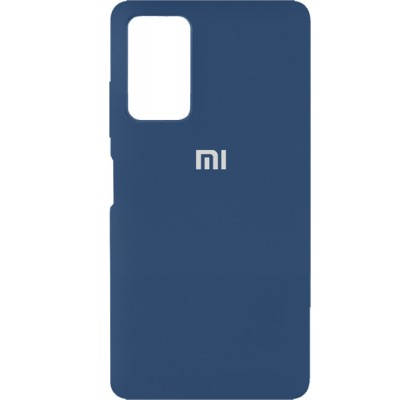 Чехол-накладка для Xiaomi Poco M3 Original Soft Navy Blue