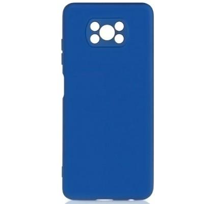 Чехол-накладка для Xiaomi Poco X3/X3 Pro Original Soft Navy Blue
