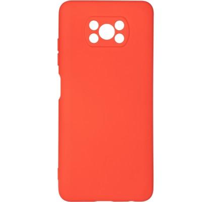 Чехол-накладка для Xiaomi Poco X3/X3 Pro Original Soft Red